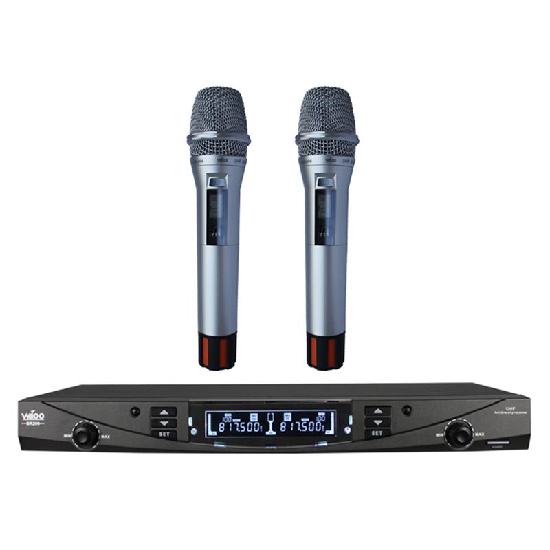 K210无线话筒-银色外观