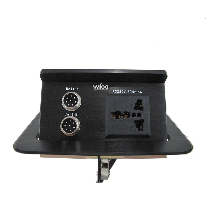 YM-C50八芯航空桌插