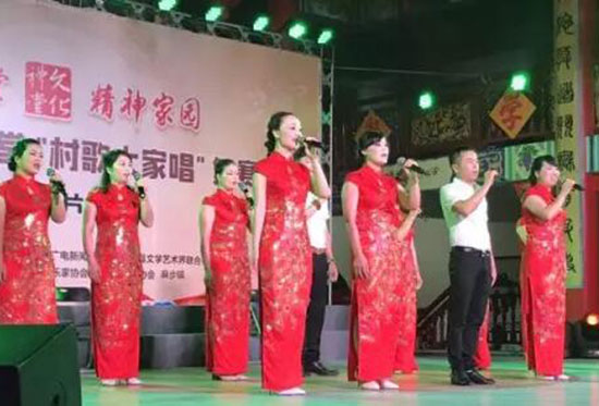 """平阳县""""村歌大家唱""""大型演唱活动"""