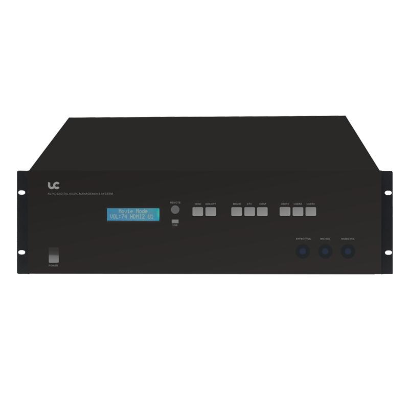 AVK526 六通道音频处理功放(带前级解码功能)