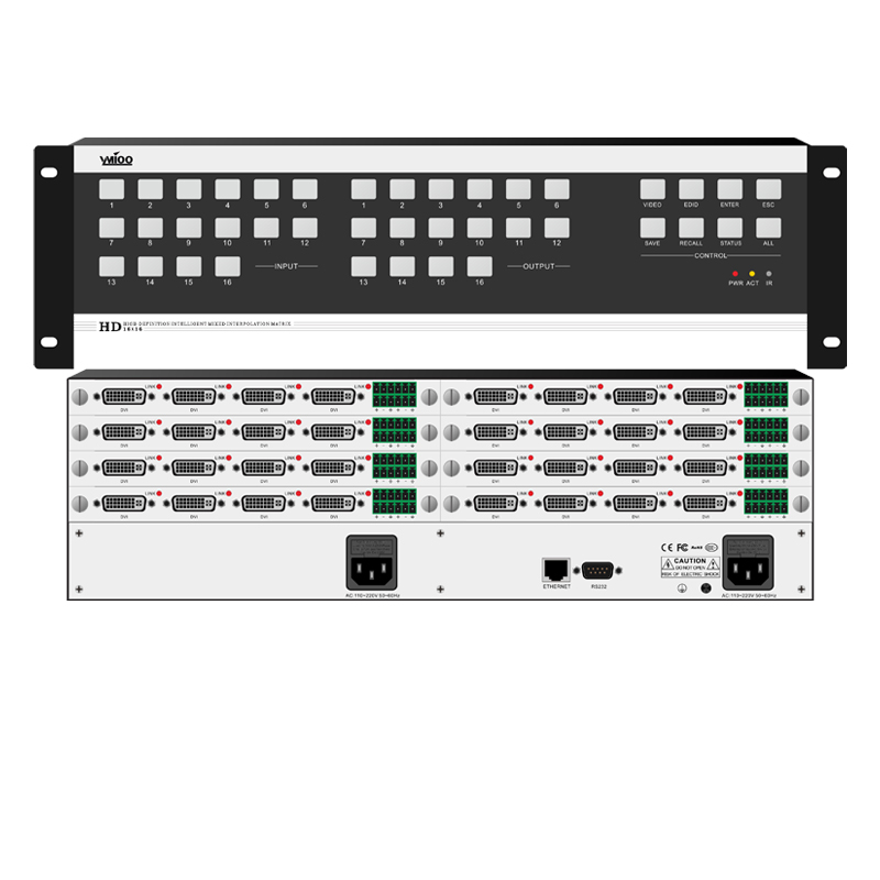 DC1616 高清无缝混插矩阵